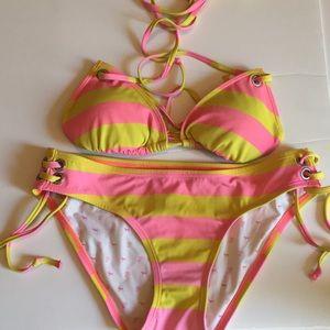 PINK Victoria's Secret String Bikini